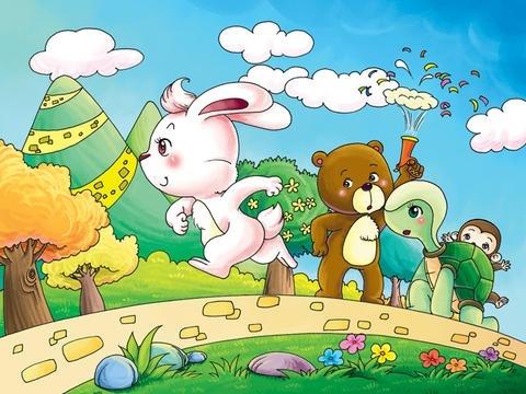 龟兔赛跑-睡前诗句ibigtoy-child10.蜜蜂采蜜童话图片